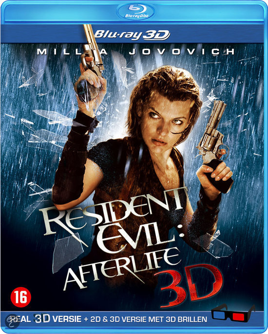 Resident Evil 4: Afterlife (3D+2D Blu-ray)