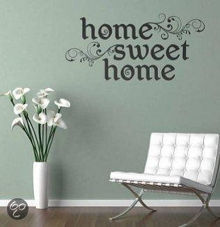 Muursticker Home Sweet Home.Bol Com Svejo Living Muurtekst Home Sweet Home