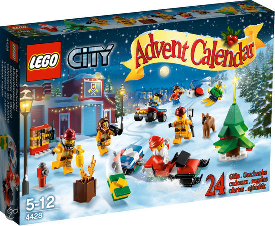 LEGO City Adventskalender - 4428