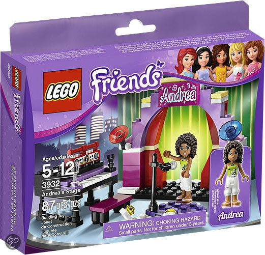 LEGO Friends Andrea's Theatershow - 3932
