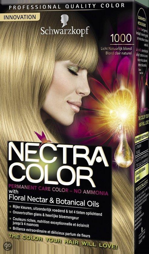 schwarzkopf nectra color 1000 licht natuurlijk blond haarverf - Nectra Color Schwarzkopf