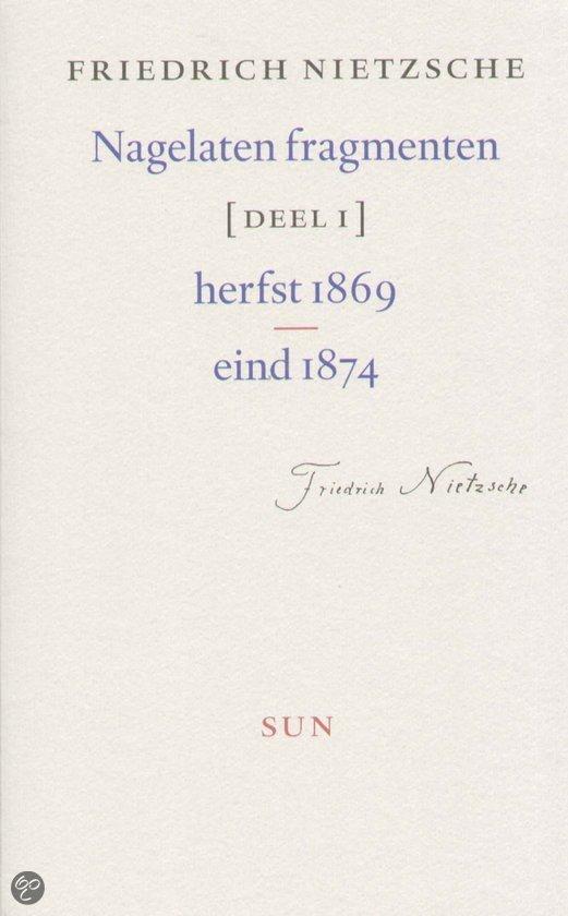 Nagelaten Fragmenten / 1 Herfst 1869 - Eind 1874