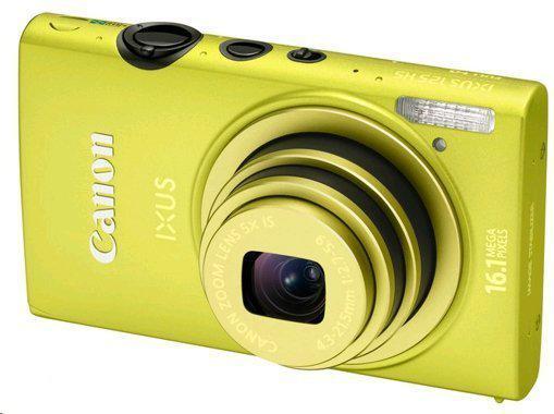 Canon IXUS 125 HS - Groen