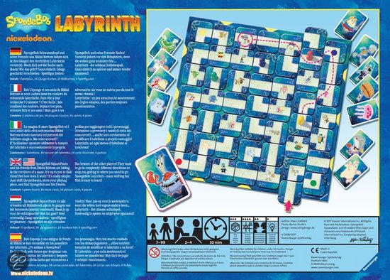 Thumbnail van een extra afbeelding van het spel SpongeBob Labyrinth