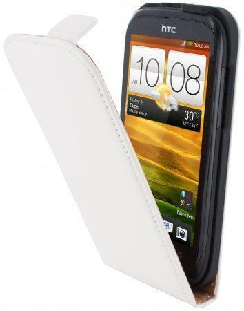 Mobiparts Premium Flip Case HTC Desire X White in Vonêche