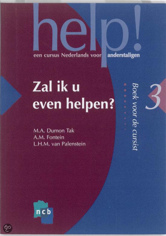 Help / 3 Zal ik u even helpen / deel Cursistenboek
