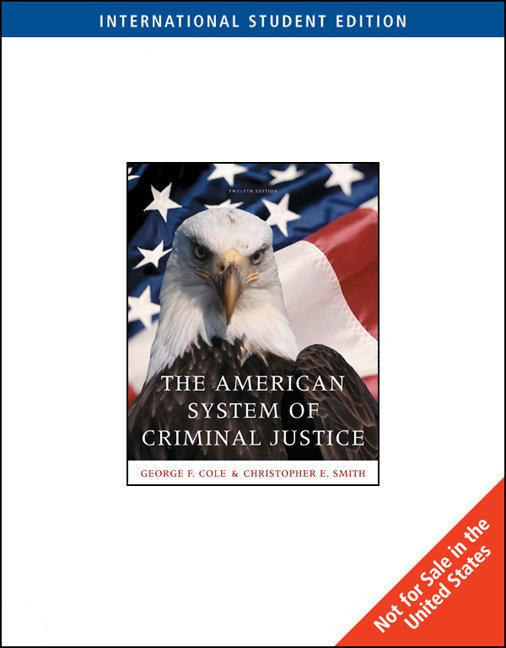 the flaws of the american criminal justice system It's likely this a flaw of the american criminal justice system, too, at least in some states why is the american justice system so unfair and broken.