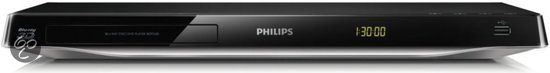 Philips BDP5500/12 - 3D Blu-ray speler - Wi-Fi - Smart TV