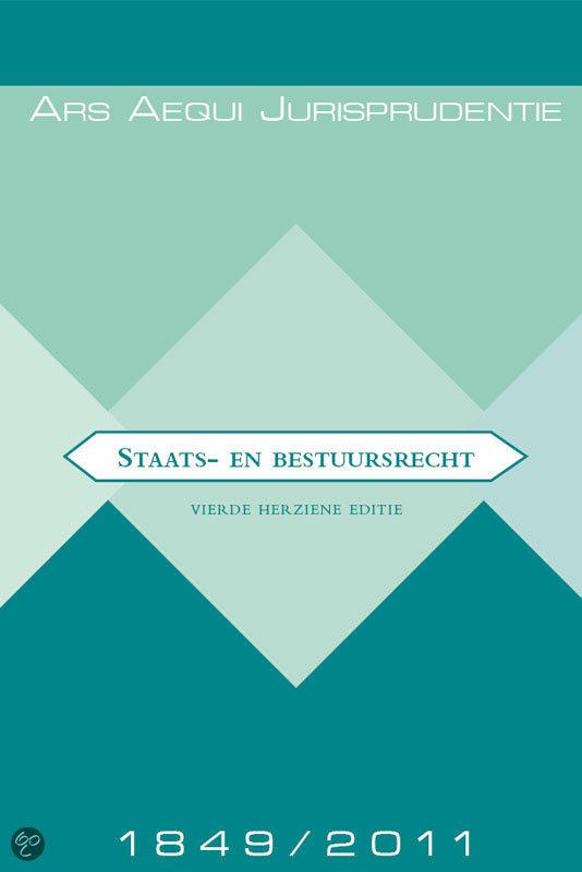 Staats- en bestuursrecht / Jurisprudentie 1849-2011