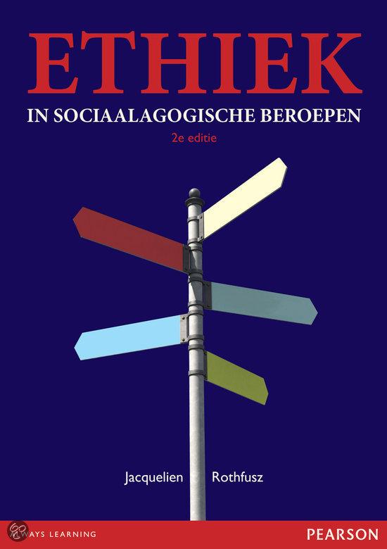Ethiek in sociaalagogische beroepen