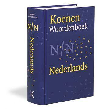 Koenen handwoordenboek nederlands nwe sp