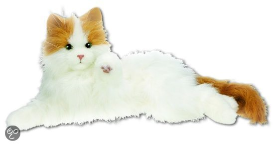 Bol Com Fur Real Kat Lulu Hasbro