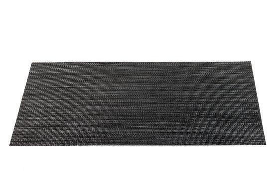 ASA Selection Placemat - 30 x 45 cm - Zwart/Grijs
