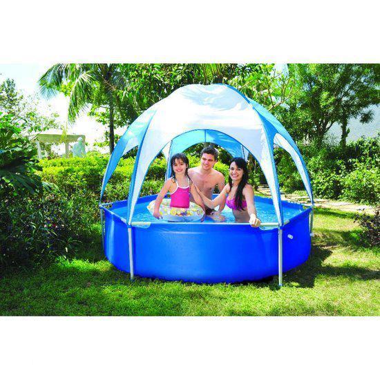 Jilong zwembad opzetzwembad sirocco 240 cm met for Opzet zwembad