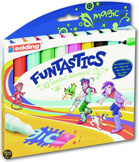Edding Funtastics 10 Magic Marker Stiften