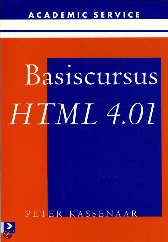 Basiscursus HTML 4.01