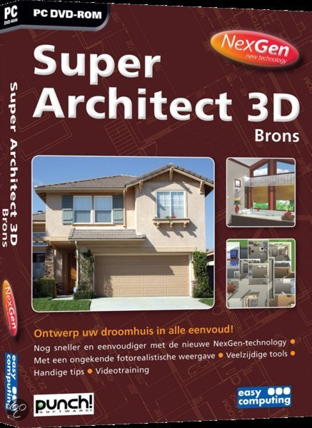 Easy Computing Super Architect 3d Brons Nexgen - Nederlands