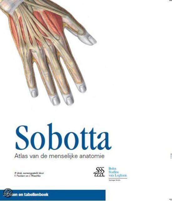 Sobotta / cassette 3 delen en tabellenboek