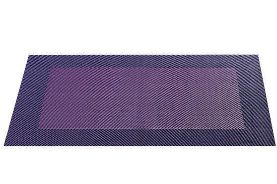 ASA Selection Geweven Rand Placemat -  33 x 46 cm - Lila