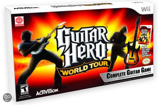 Guitar Hero: World Tour + Gitaar