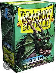 Afbeelding van het spel Dragon Shield 100 Box Green (100st.)