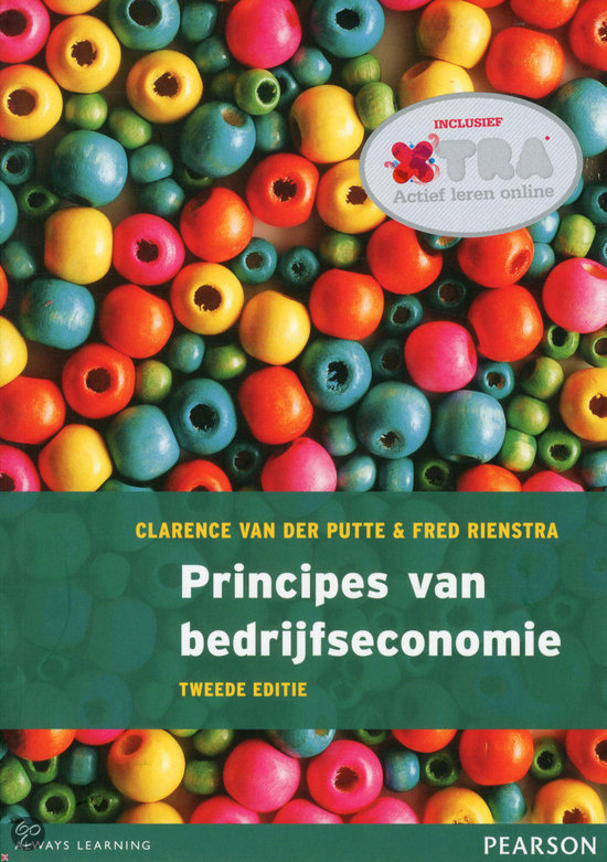 Principes van bedrijfseconomie