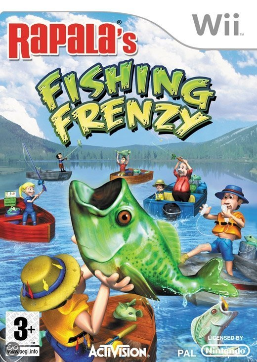 Rapala Fishing Frenzy with Rod /Wii kopen