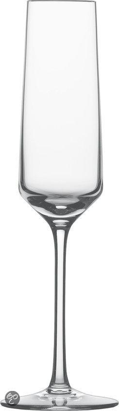 Schott Zwiesel Pure Champagneflûte met MP - 0.21 l - 6 Stuks