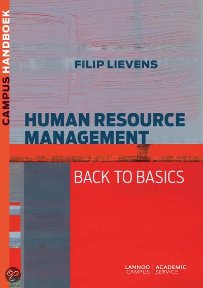 handboek Human Resource Management