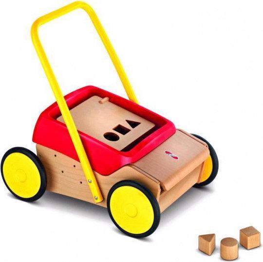 PUKY Loopwagen - Rood