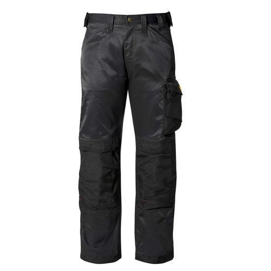 Snickers werkbroek - Maat 42 - Zwart/zwart - 3312-0404