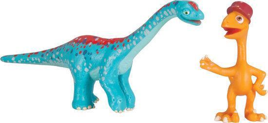 Dinosaurus Trein - Arnie and Gilbert met Glow in de Dark Bottenstructuur