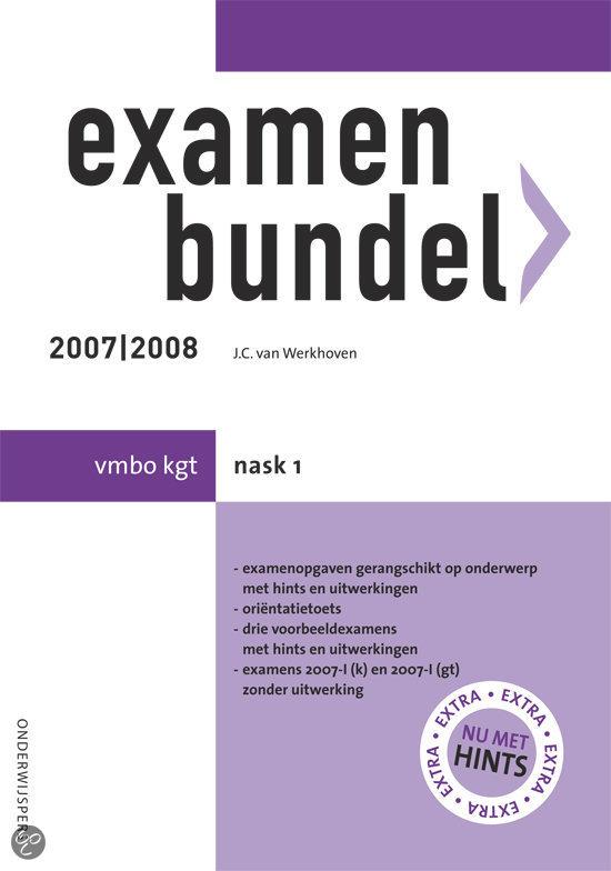 Examenbundel Vmbo Kgt Nask 1