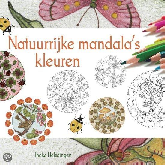 Natuurrijke mandala's kleuren