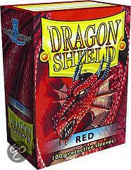 Afbeelding van het spel Dragon Shield 100 Box Red (100st.)