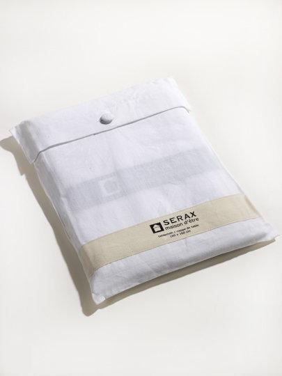serax tafelkleed 200 x 200 cm wit. Black Bedroom Furniture Sets. Home Design Ideas