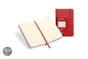 Moleskine Red Pocket Daily Diary 12 Month Hard