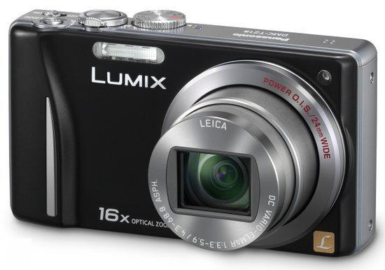 Panasonic Lumix DMC-TZ18 - Zwart