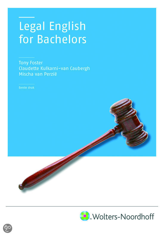 Legal English for bachelors + CD-ROM / druk 1