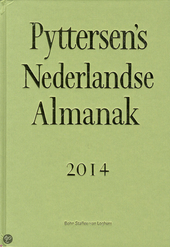 Pyttersen's Nederlandse almanak / 2014