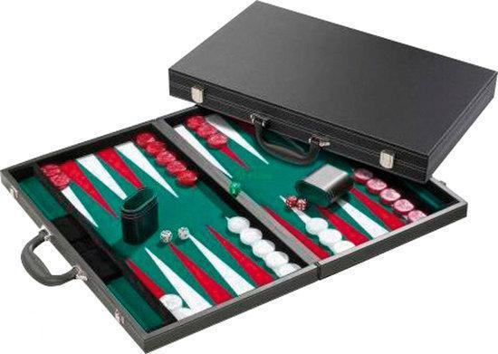 Afbeelding van het spel Backgammon Zwart 53x32 inlay 21