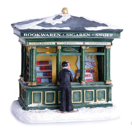 Oud-Hollandsche beroepen Kerstdecoratie Tabak- en snoepkiosk