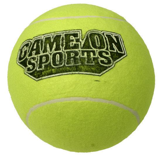 Game On Sport Tennisbal 9 Inch Geel
