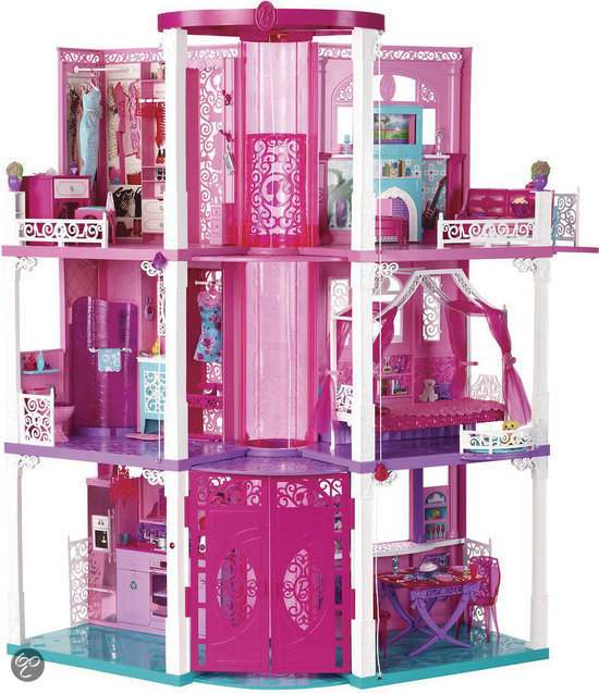 Barbie droomhuis barbie meubel mattel for Barbiehuis meubels