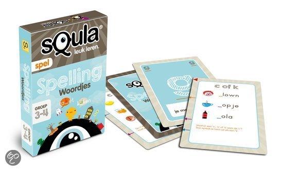 Thumbnail van een extra afbeelding van het spel Squla Spelling - Kaartspel