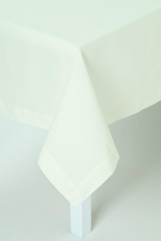 IHR Tafelkleed - Katoen - Uni Crème - 150X250 cm