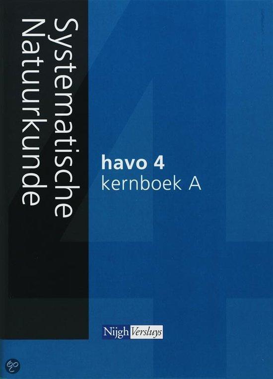 Systematische Natuurkunde / 4 Havo 2007 / deel Kernboek A