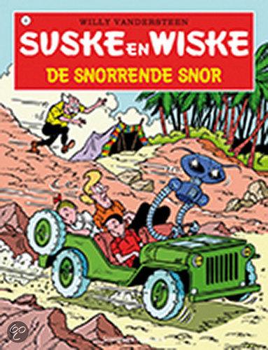 Suske en Wiske 093 De snorrende snor