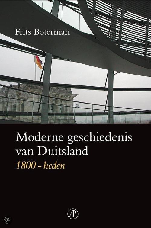 Moderne geschiedenis van Duitsland 1800-heden