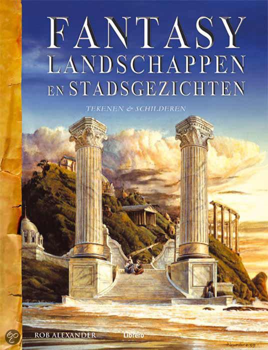 Fantasy Landschappen En Stadsgezichten